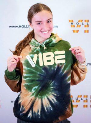 Hollywood Vibe Tie Dye Hoodie