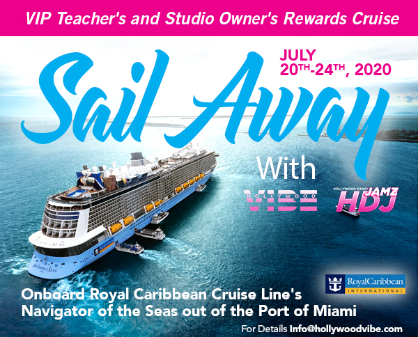 Hollywood Vibe Sail Away Cruise 2020