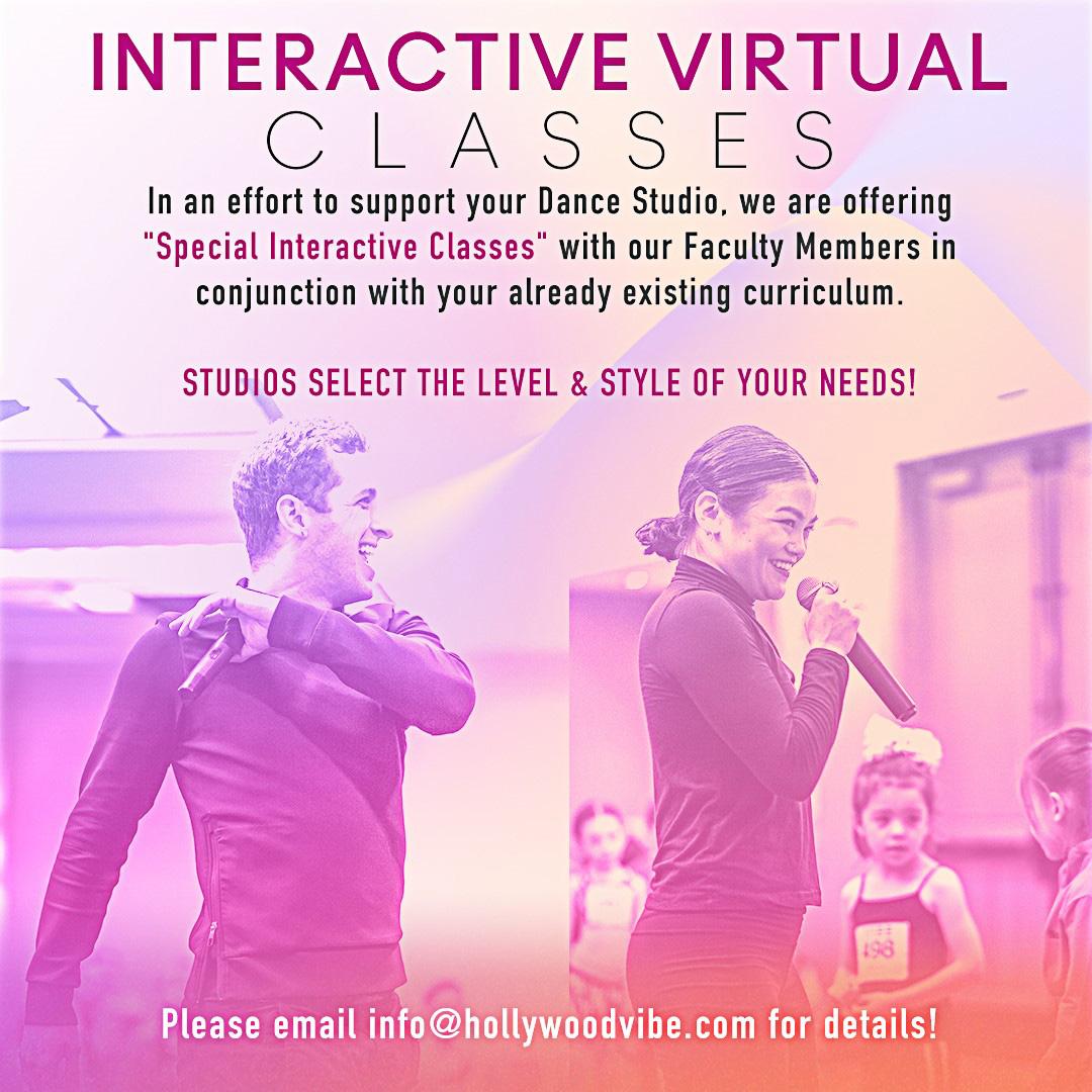 Hollywood Vibe Virtual Classes