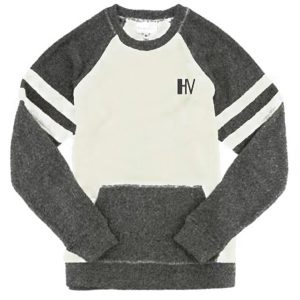 Hollywood Vibe Grey Pullover Sweatshirt