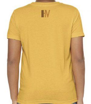 Hollywood Vibe Yellow Tee