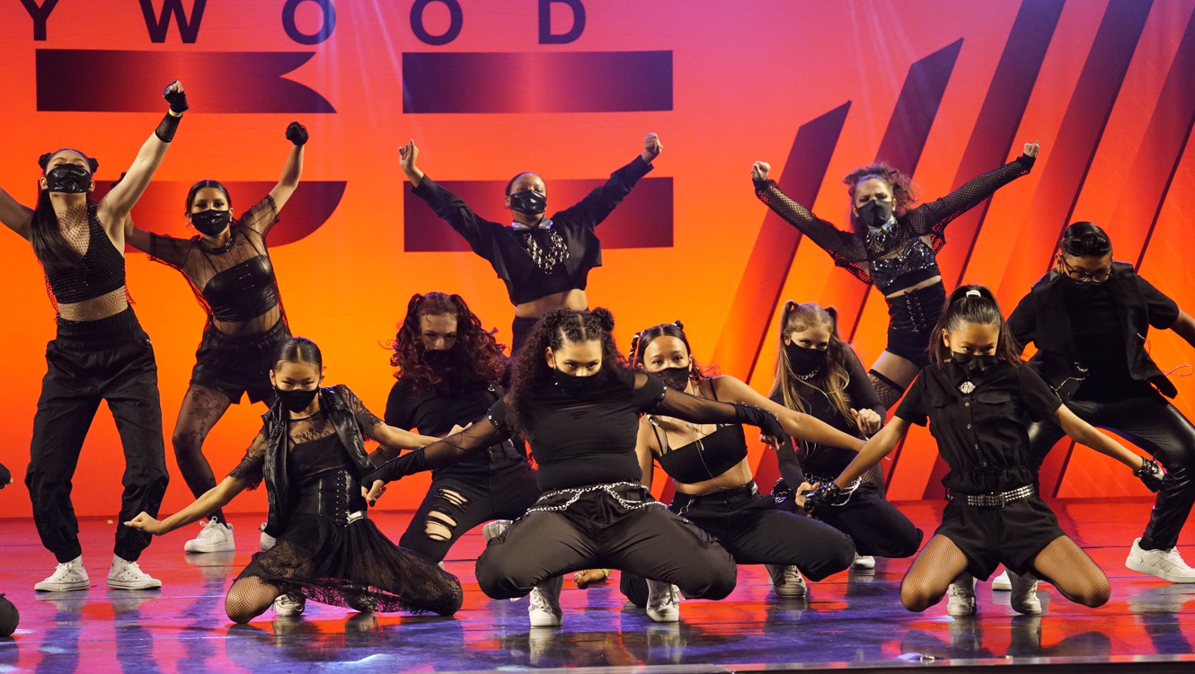 Hollywood Vibe 2021 Battle of the Stars Intermediate - AMMP - Elements Dance Space