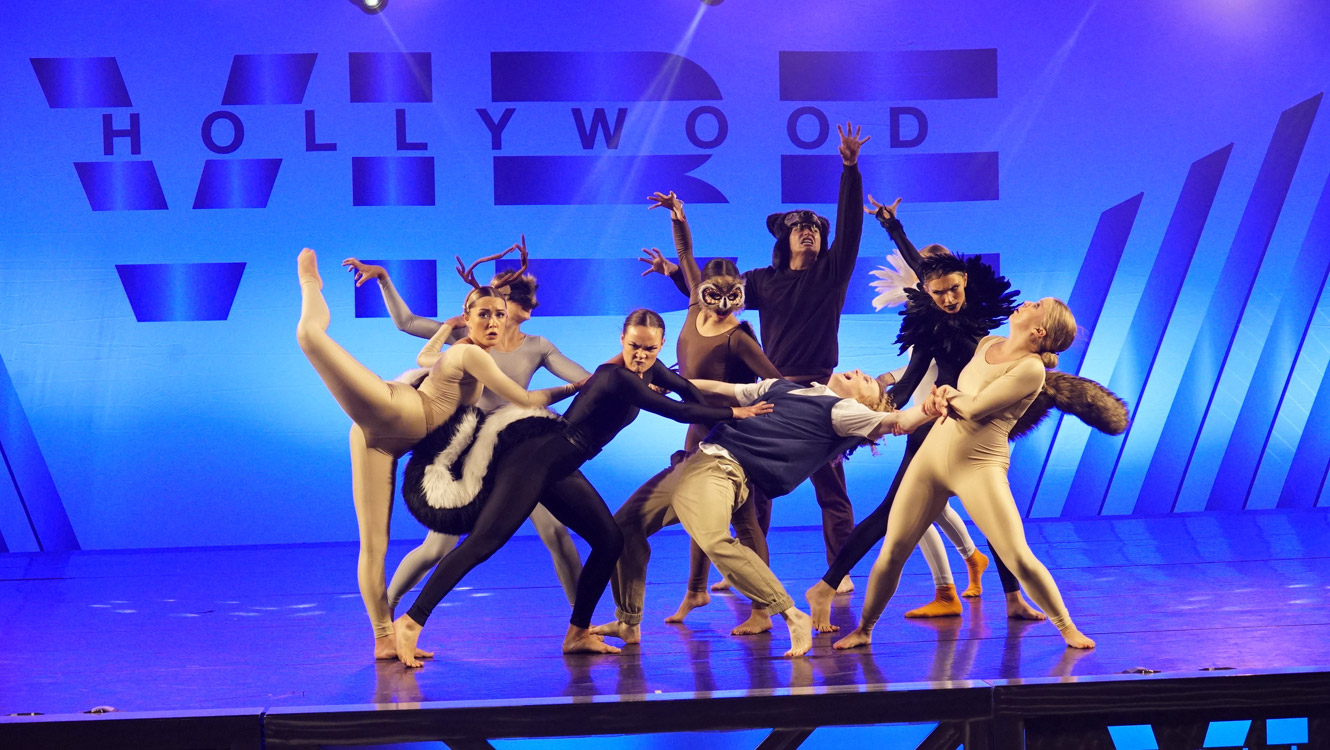 Hollywood Vibe 2021 Battle of the Stars Senior - The Haunting of the Taxidermy - Infinity Dance