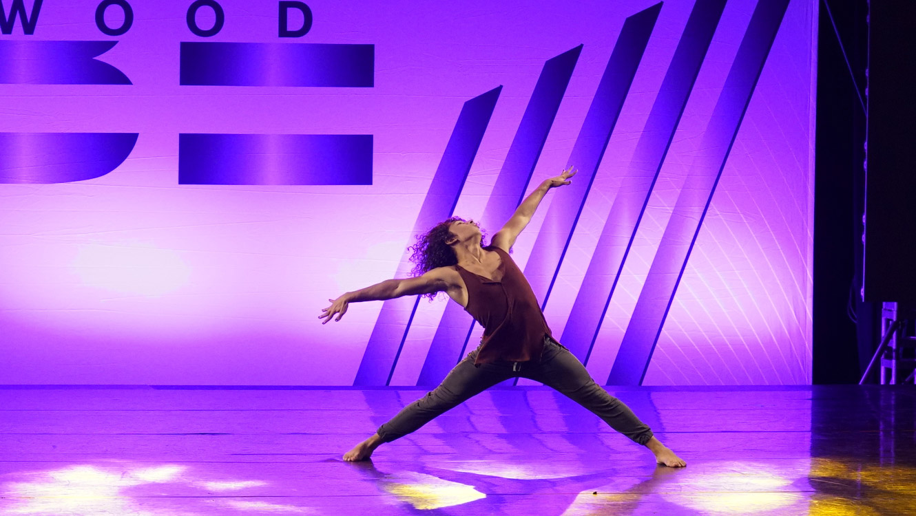Hollywood Vibe 2021 Senior Male Dancer of the Year Donivyn Riley - Equinox Dance Company