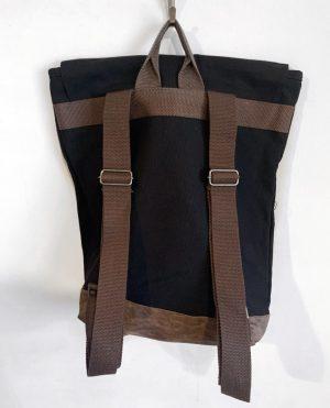 Hollywood Vibe Zipper Tote Bag BACK