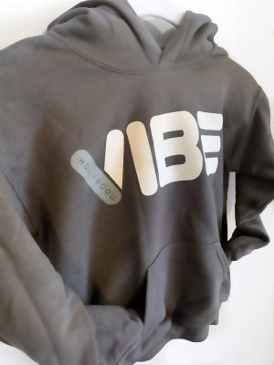 Hollywood Vibe Hoodie Grey FRONT