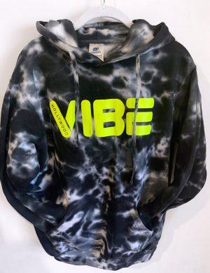 Hollywood Vibe Hoodie Tie Dye FRONT